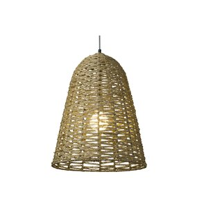 Mistana Brook 1-Light Bell Pendant