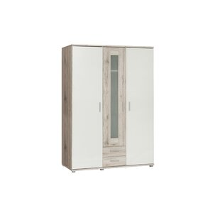 Merri 3 Door Wardrobe By Ebern Designs