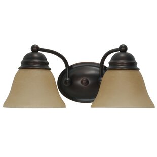 Charlton Home Poneto 2-Light Vanity Light