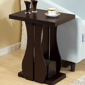 Owen Artistic Vase Inspired End Table by Winston Porter