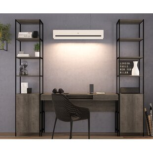 Affordable Blue Point 3 Piece Desk Office Suite By Foundry Select