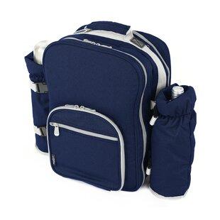 38 Piece Picnic Backpack Set By Rebrilliant