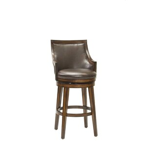 Millwood Pines Blackburn Swivel Bar Stool