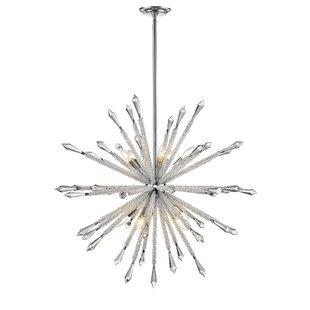 Brayden Studio Pickering 10-Light Sputnik Chandelier