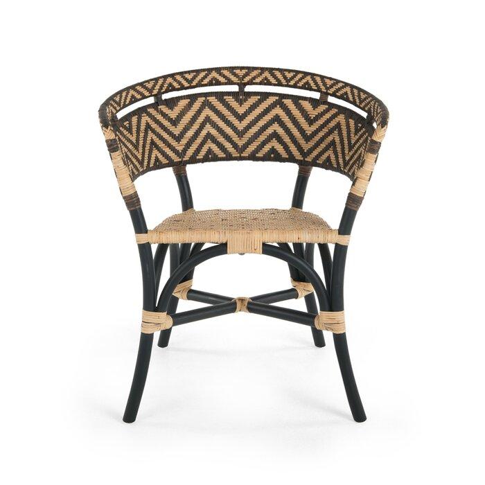 World Menagerie Avice 2 Piece Zig-Zag Rattan Club Side Chair ... on areca catechu, bactris gasipaes, nungu fruit, phoenix sylvestris,