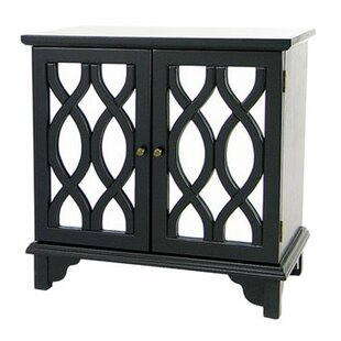 Elowen Mirror 2 Door Accent Cabinet by House of Hampton