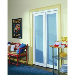 Baldarassario MDF 2 Panel Painted Sliding Interior Door