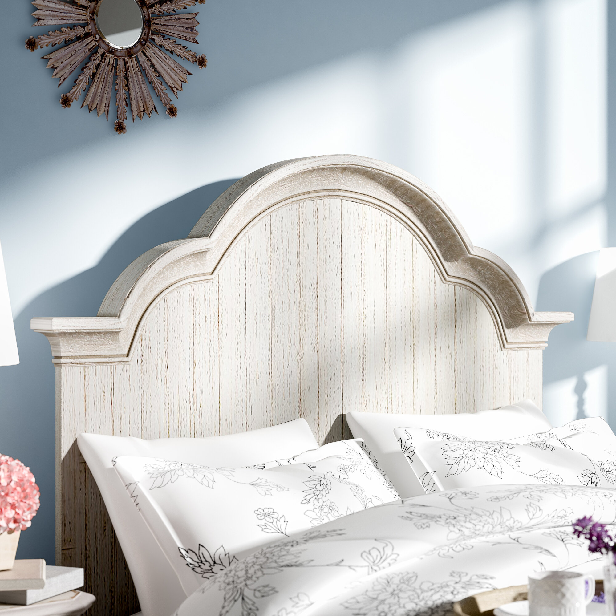 to a panel headboard build hgtv rooms design how wood wrought iron bedrooms