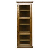 Leary 72 H x 27 W Solid Wood Corner Bookcase by Loon Peak®