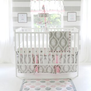 High-End Swart 3 Piece Crib Bedding Set By Harriet Bee