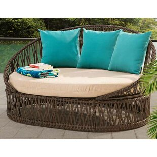 Bungalow Rose Agawam Daybed with Cushions