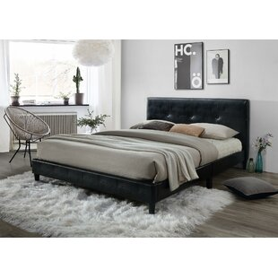 McArthur Upholstered Platform Bed by Ebern Designs Comparison