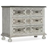 Beaumont 3 Drawer Mirrored Accent Chest by Hooker Furniture