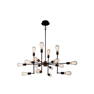 Trent Austin Design Grassy Ridge 15-Light Sputnik Chandelier