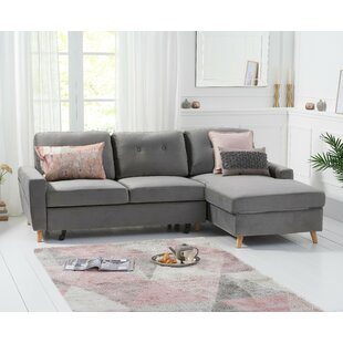 Munden Sleeper Corner Sofa By Mercury Row