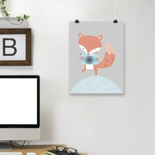 'Fox' Paper Print By East Urban Home