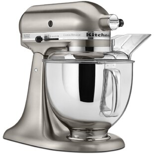 Custom Metallic 10 Speed 5 Qt. Stand Mixer - KSM152PS