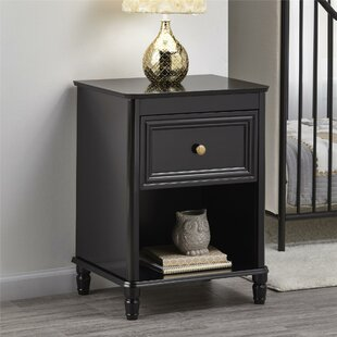 Review Piper 1 Drawer Bedside Table