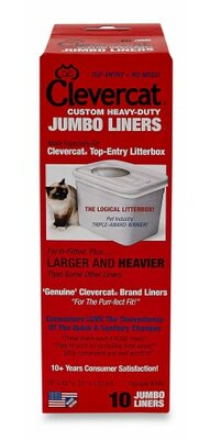 Top Entry Litter Box Liners (10 Pack) Clevercatinnovations
