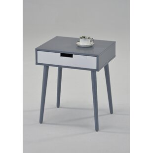 Guitierrez End Table with Storage