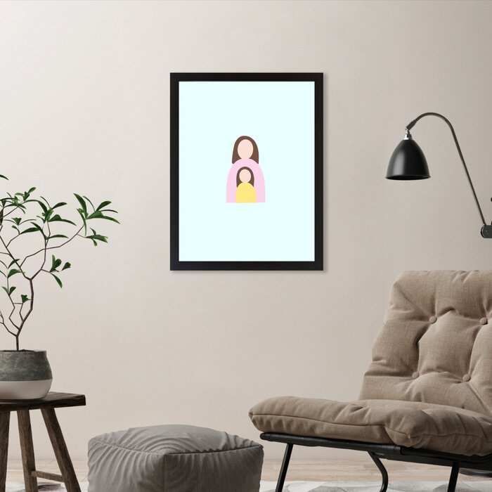 Fine Ella Seymour Design Mum And Daughter Photograph On Canvas Pabps2019 Chair Design Images Pabps2019Com