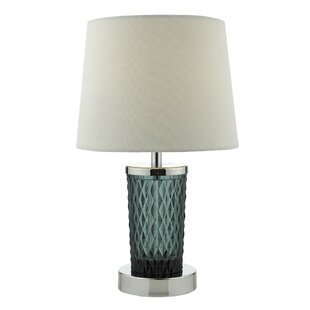 Teal table lamp wayfair save to idea board mozeypictures Gallery