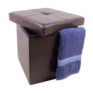 Chorley Single Folding Tufted Storage Ottoman by Winston Porter