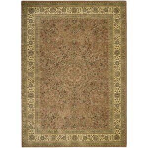 Olevia Persian Coffee Area Rug
