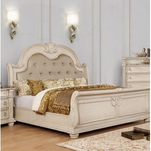 Makaila Upholstered Panel Bed by Rosdorf Park