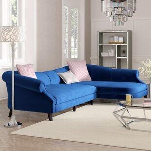 online store 442a0 2d1f5 Cobalt Blue Sectional | Wayfair