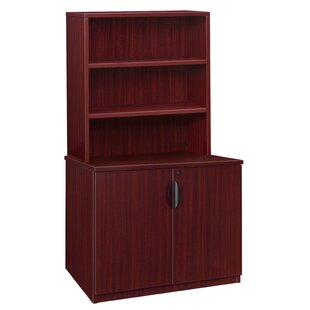 Linh Storage Cabinet with Open Hutch