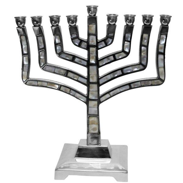 Ben And Jonah Mother Of Pearl Lamp Lighters Ultimate Judaica Menorah Wayfair