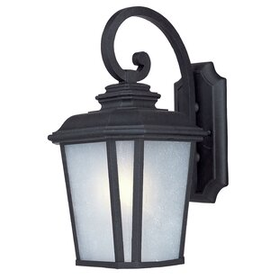 Best Melrose 1-Light Outdoor Wall Lantern By Darby Home Co