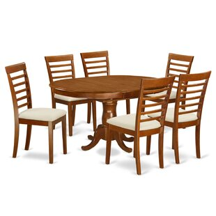 Portland 7 Piece Dining Set East West Furniture