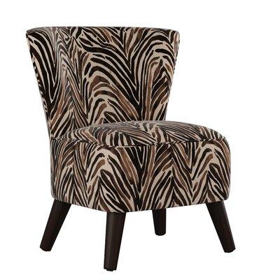Terrific Crown Slipper Chair Bungalow Rose Upholstery Washed Zebra Evergreenethics Interior Chair Design Evergreenethicsorg