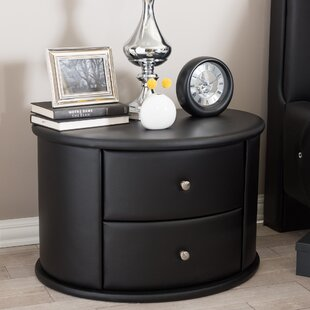 Kleio 2 Drawer Nightstand