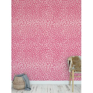 Animal Print Pink Peel Stick Wallpaper You Ll Love In 2020 Wayfair