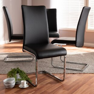 Sorg Upholstered Dining Chair (Set of 4)