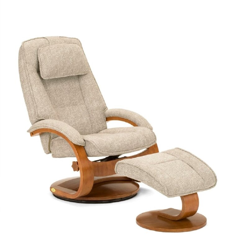 modern and ottoman mackinac free product swivel recliner with alder clay garden home today shipping overstock