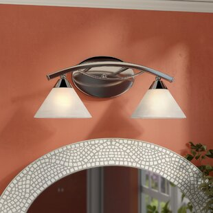 Beecroft 2-Light Shaded Vanity Light by World Menagerie