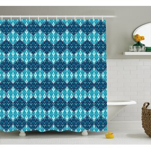 Giovanni Oriental Patchwork Decor Single Shower Curtain