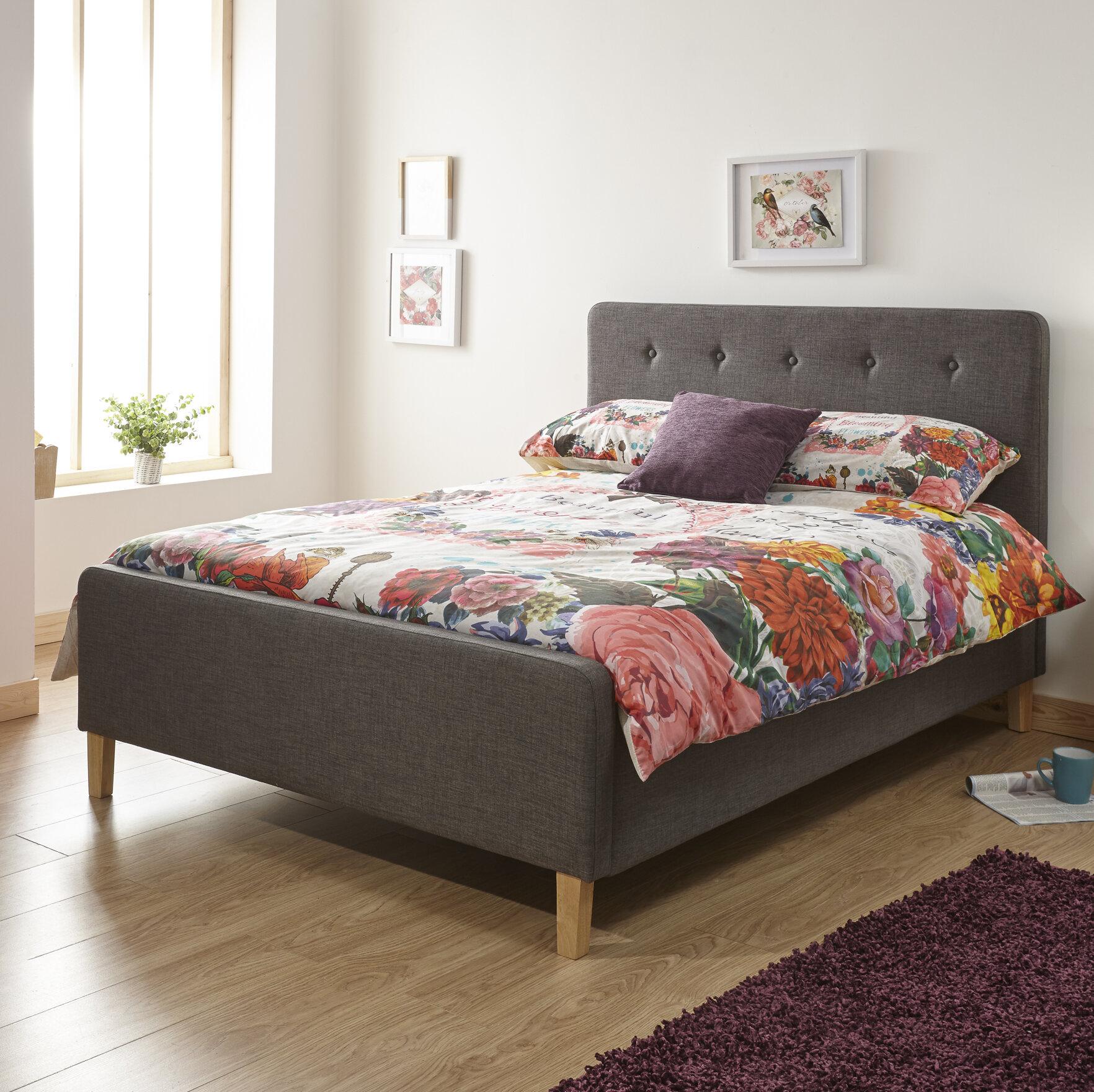 Zipcode Design Buckhaven Upholstered Ottoman Bed Reviews Wayfair Co Uk