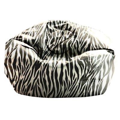 Superb Comfort Research Big Joe Smartmax Bean Bag Chair Color Zebra Machost Co Dining Chair Design Ideas Machostcouk