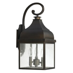 Read Reviews Westridge 3-Light Outdoor Wall Lantern By Capital Lighting
