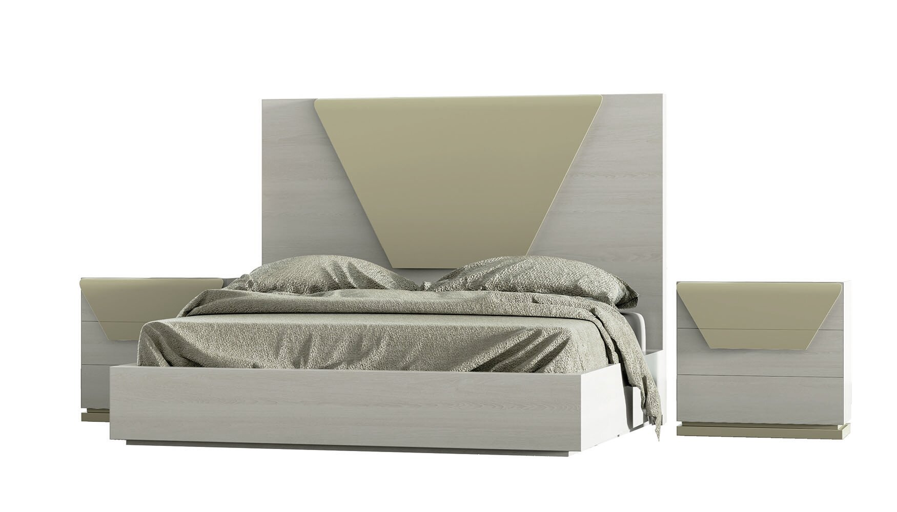Hispania Home London Bedor87 Bedroom Set 3 Pieces Wayfair