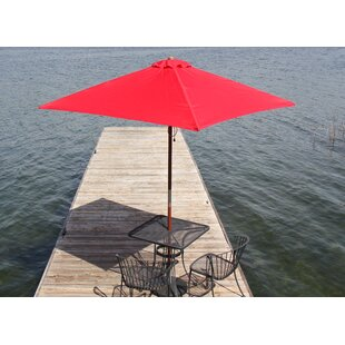 Heininger Holdings LLC Destination Gear 6.5' Square Market Umbrella