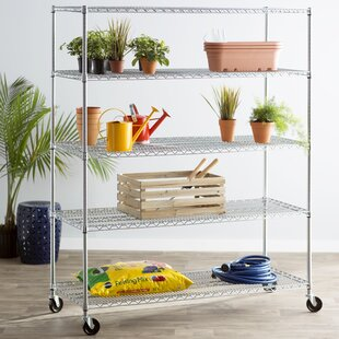 Wayfair Basics™ Wayfair Basics 5 Shelf XL Wire Shelving Unit