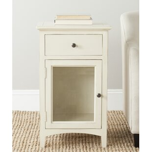 Reviews Ziva End Table With Storage By Safavieh