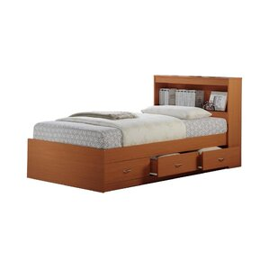 airdrie twin bed with 3 drawers