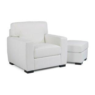 Rasika Club Chair and Ottoman